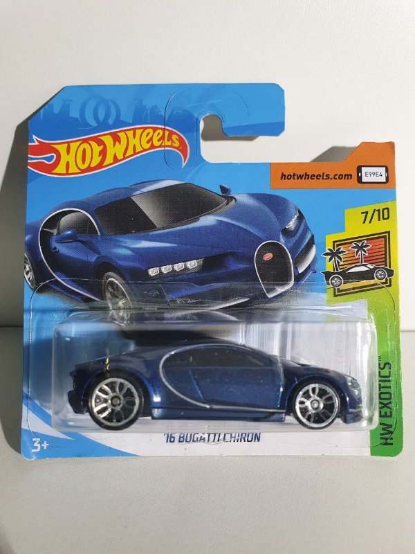 Miniatura Hot Wheels - Bugatti Chiron - HW Exotics