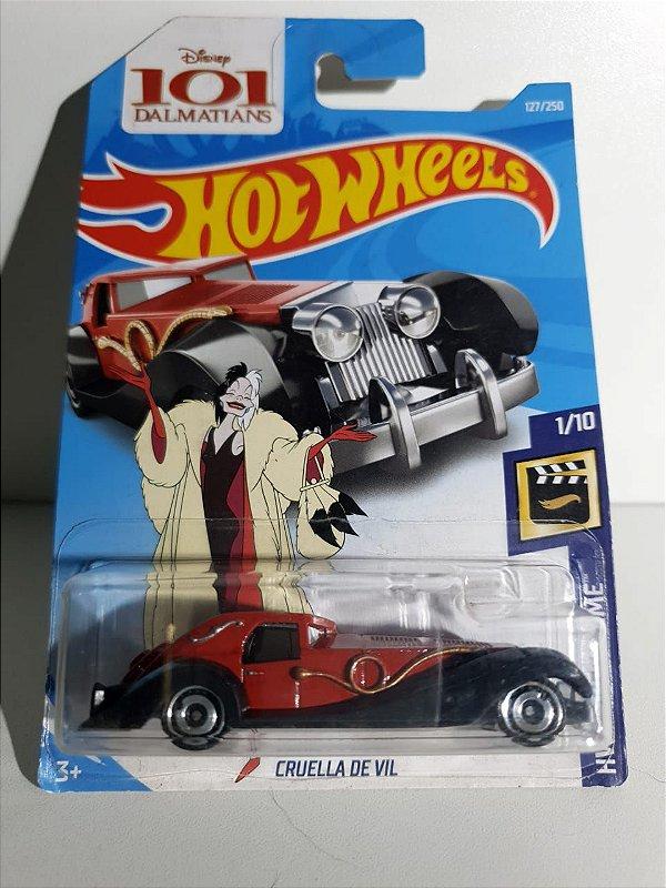 Miniatura Hot Wheels - Cruela De Vil - 101 Dalmatas