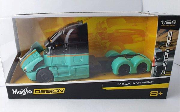 Miniatura Caminhão Mack Anthem - Maisto Design - Escala 1/64