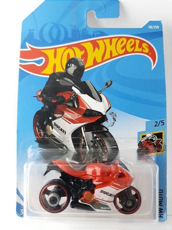 Miniatura Hot Wheels - Moto Ducati Panigale 1199 - HW Moto