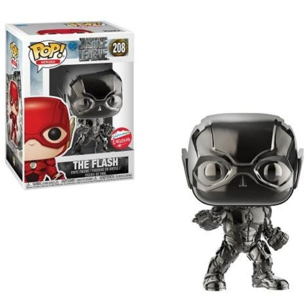 Pop Funko! - Liga da Justiça The Flash Black - Cód. 208