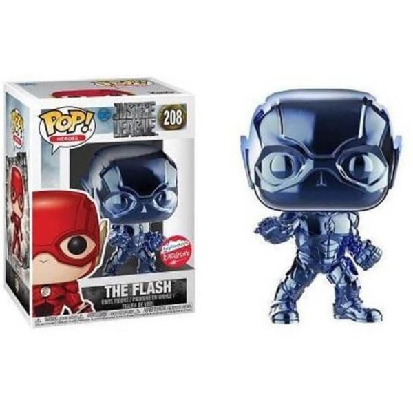Pop Funko! - Liga da Justiça The Flash Blue - Cód. 208