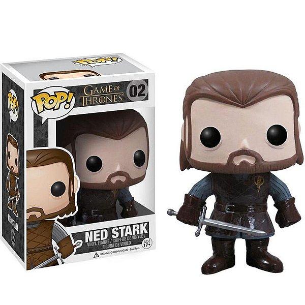 Boneco Pop Funko! Game Of Thrones Ned Stark C/ Espada 02