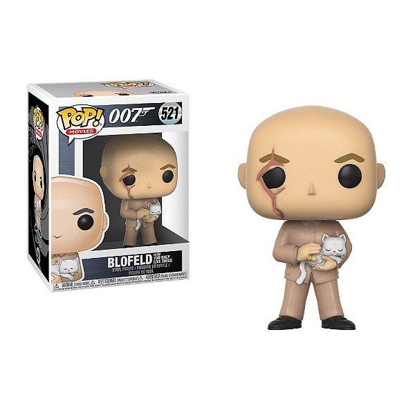 Pop Funko! - 007 James Bond Blofeld C/ Gato e Cicatriz 521