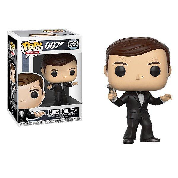 Boneco Pop Funko! 007 James Bond C/ Terno e Arma Cód. 522