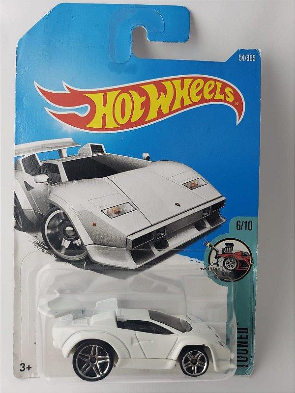 Miniatura Hot Wheels - Lamborghini Countach - Tooned