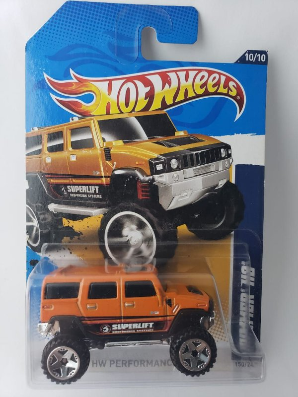 Miniatura Hot Wheels - Hummer H2 - HW Performance