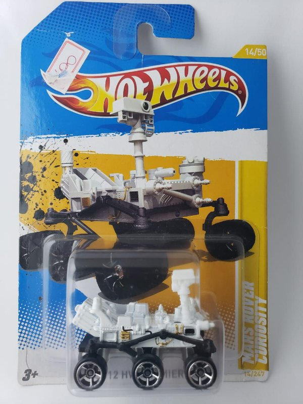 Miniatura Hot Wheels - Mars Rover Curiosity - HW Premiere