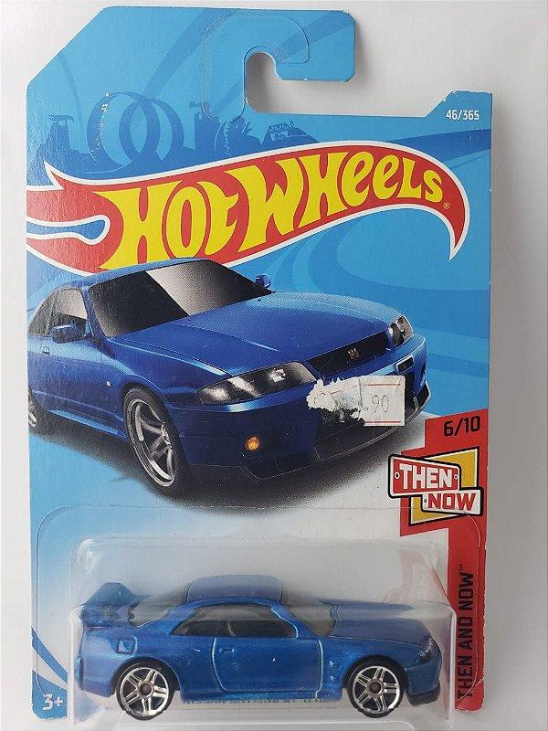 Miniatura Hot Wheels - Nissan Skyline GTR R34 - HW Workshop