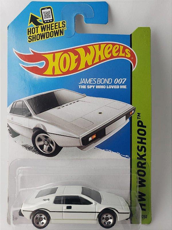 Miniatura Hot Wheels - Lotus Esprit - 007 James Bond