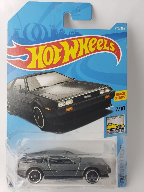 Miniatura Hot Wheels - DMC Delorean  - HW Workshop