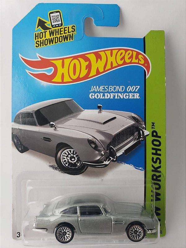 Miniatura Hot Wheels - Aston Martin DB5 - 007 James Bond