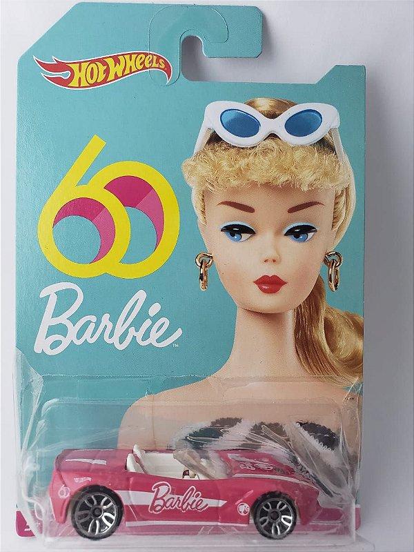 Miniatura Hot Wheels Corvette Stingray - Barbie 60 Anos