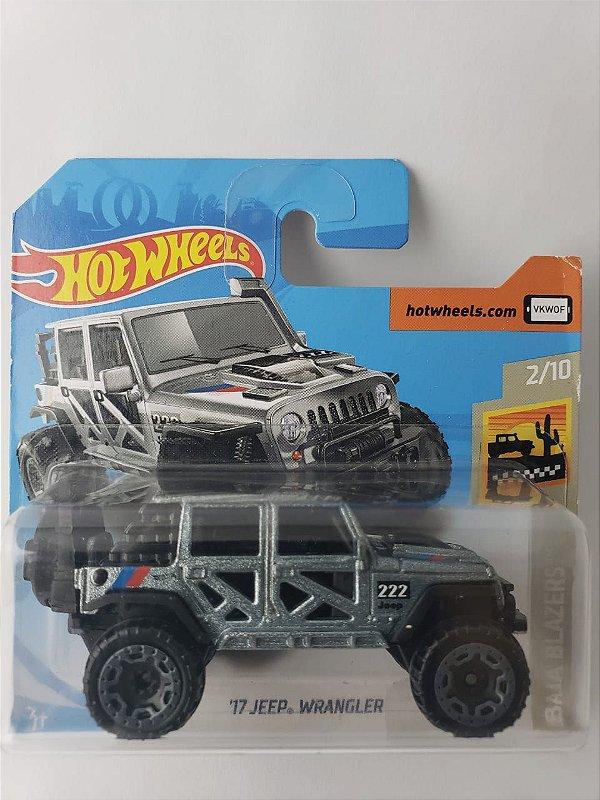 Miniatura Hot Wheels - Jeep Wrangler 17 - Baja Blazers
