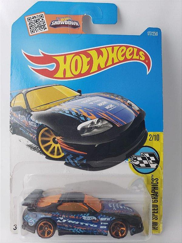 Miniatura Hot Wheels - Toyota Supra - HW Speed Graphics