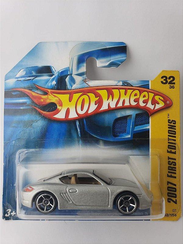 Miniatura Hot Wheels Porsche Cayman S 2007 First Editions