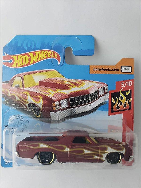 Miniatura Hot Wheels - Chevrolet El Camino 71 - HW Flames