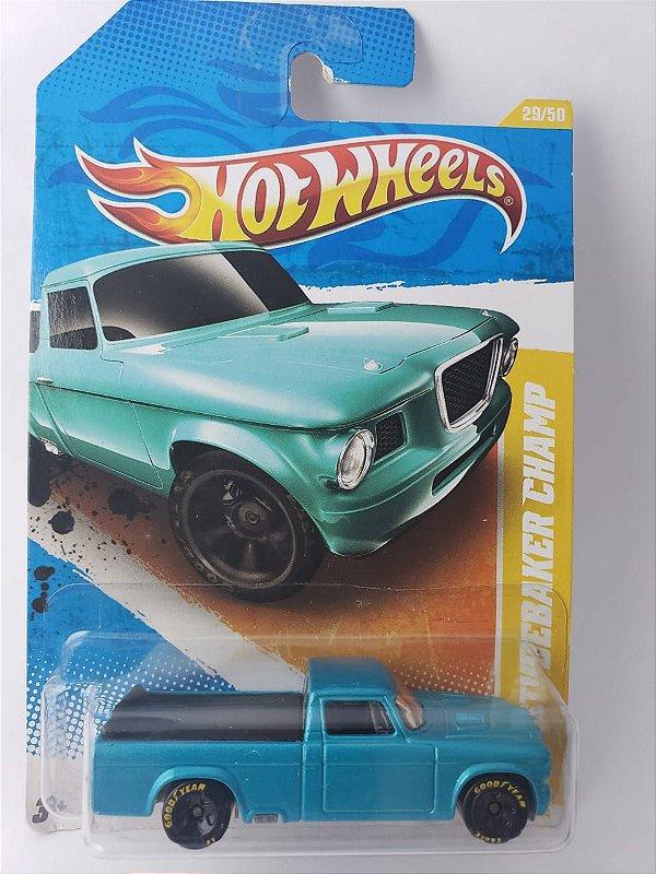 Miniatura Hot Wheels - Studebaker Champ 63 - HW Premiere