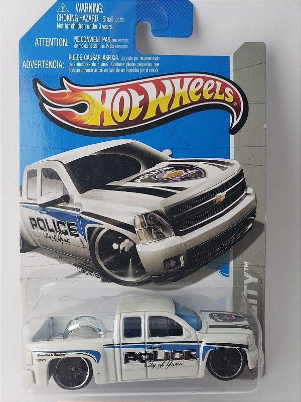 Miniatura Hot Wheels - Chevrolet Silverado - HW City
