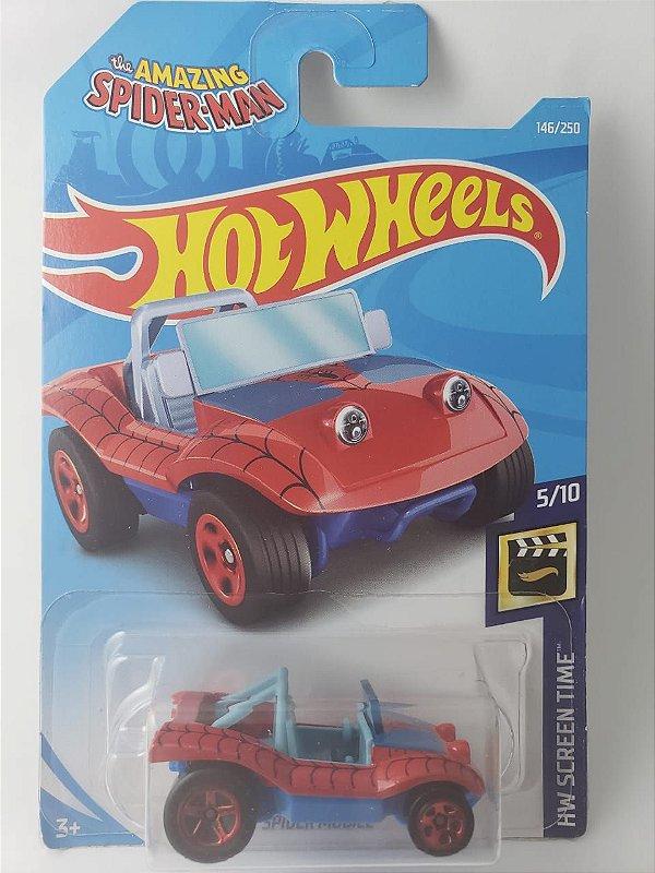 Miniatura Hot Wheels - Spider Mobile Homem Aranha - HW City