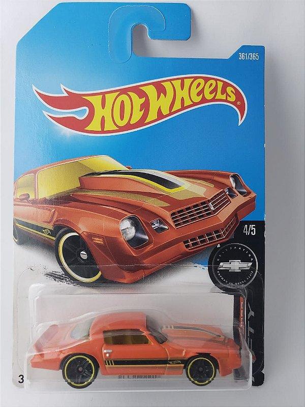 Miniatura Hot Wheels - Chevrolet Camaro 81 - Fifty Series