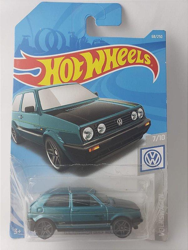 Miniatura Hot Wheels - Volkswagen Golf MK2 Verde