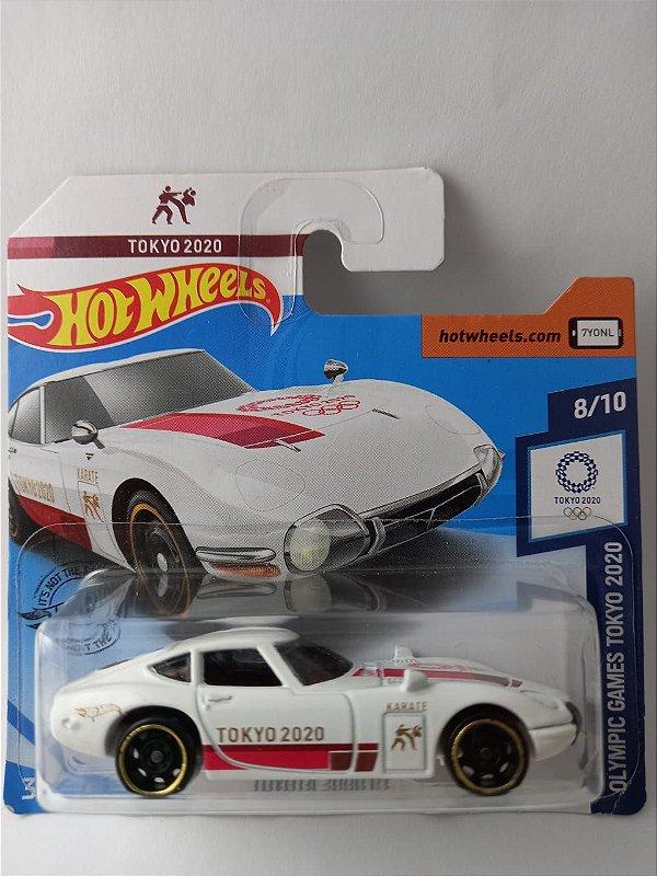 Miniatura Hot Wheels - Toyota 2000 GT Tokyo 2020 - Olympic