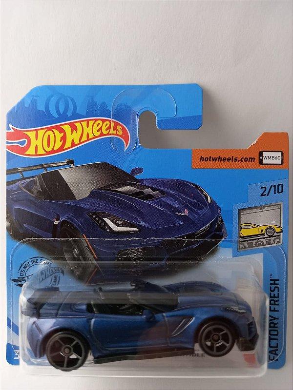 Miniatura Hot Wheels Corvette ZR1 Conversivel - Factory Fresh