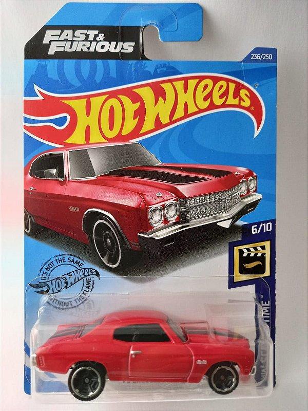 Miniatura Hot Wheels Chevelle SS 1970 - Velozes e Furiosos