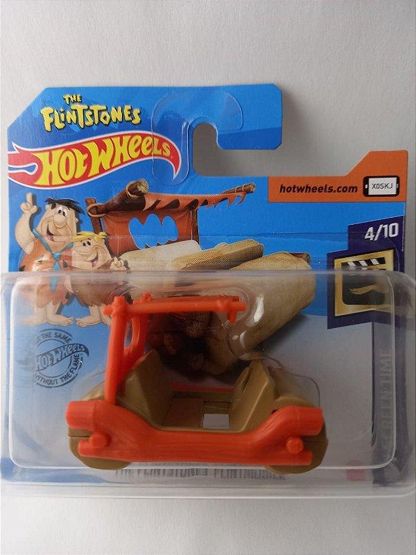 Miniatura Hot Wheels - The Flintstones Flintmobile - HW Screen Time