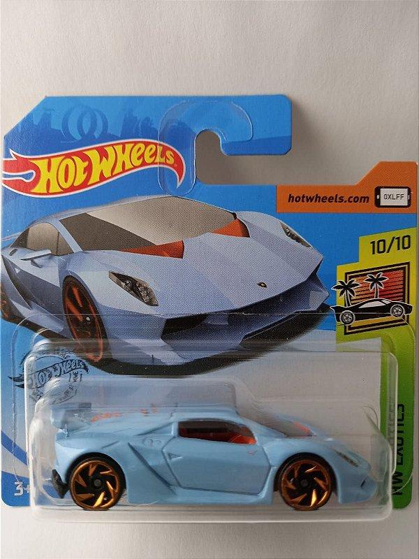 Miniatura Hot Wheels - Lamborghini Sesto Elemento - HW Exotics