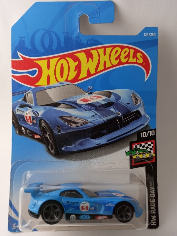 Miniatura Hot Wheels - Dodge Viper SRT GTS-R - HW Race Day