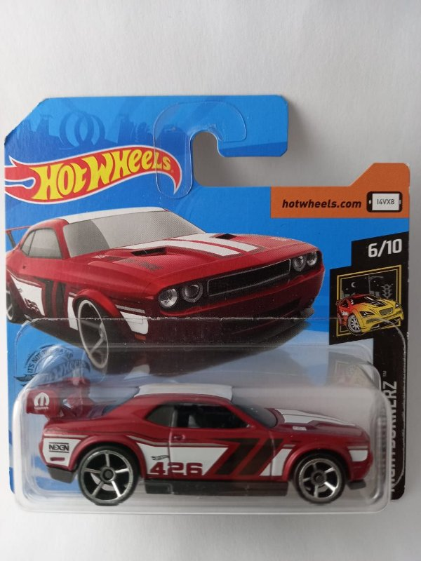 Miniatura Hot Wheels - Dodge Challenger Drift Car - Nightburnerz