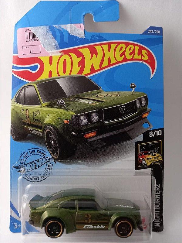 Miniatura Hot Wheels - Mazda RX3 - Nightburnerz