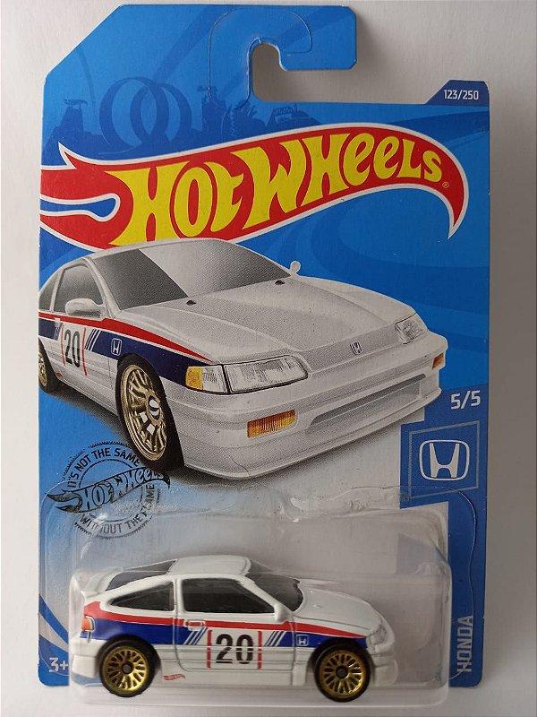 Miniatura Hot Wheels - Honda CR-X 1988 - Branco