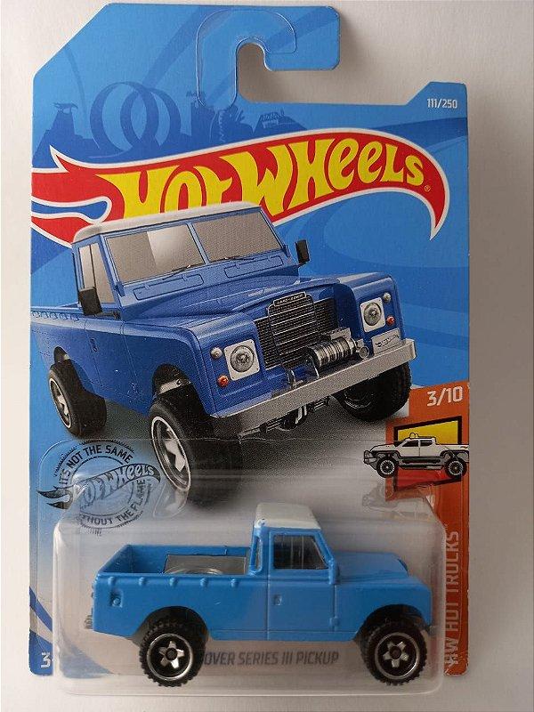 Miniatura Hot Wheels Pick Up Land Rover - HW Hot Trucks