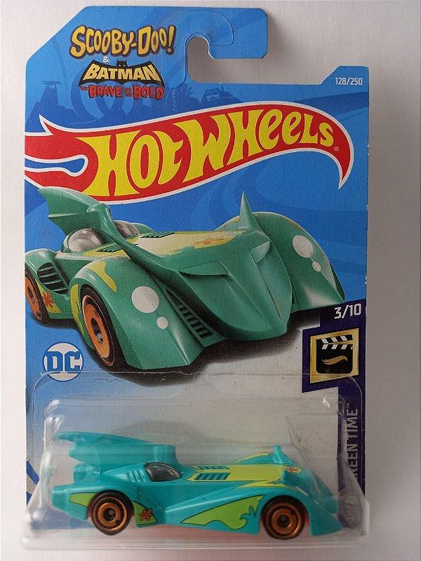 Miniatura Hot Wheels - Batmovel Scooby Doo HW Screen Time
