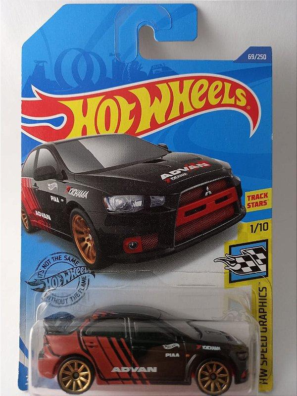 Miniatura Hot Wheels - Mitsubishi Lancer - HW Speed Graphics