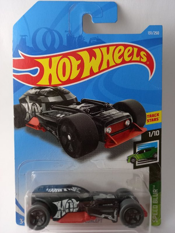 Miniatura Hot Wheels - HW 50 Concept - Speed Blur