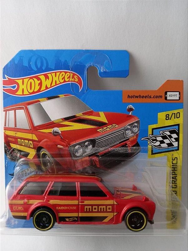 Miniatura Hot Wheels Datsun Bluebird Wagon HW Speed Graphics