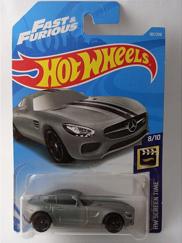 Miniatura Hot Wheels - Mercedes AMG GT - Velozes e Furiosos