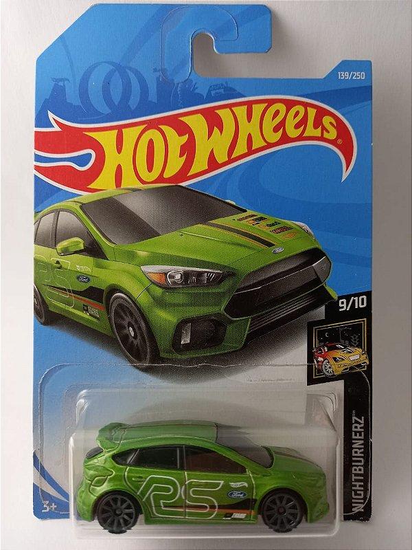 Miniatura Hot Wheels - Ford Focus RS - Nightburnerz