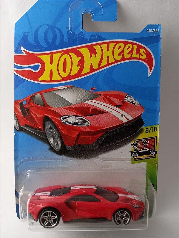 Miniatura Hot Wheels - Ford GT 2017 - HW Exotics
