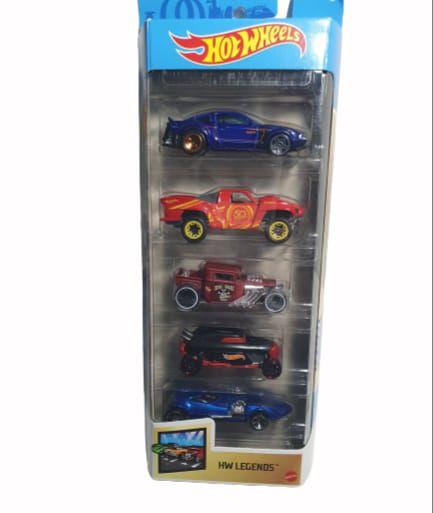 Pack com 5 Miniaturas Hot Wheels - HW Legends