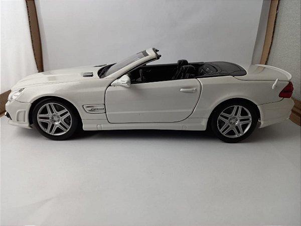 Miniatura Mercedes SL65 AMG e Mercedes SL550 - Escala 1/18 - Maisto