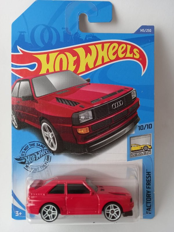 Miniatura Hot Wheels - Audi Sport Quattro 84 - Factory Fresh