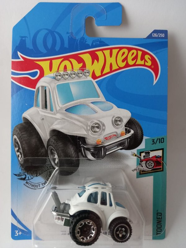 Miniatura Hot Wheels - Volkswagen Fusca Baja Bug 70 - Tooned