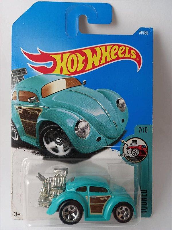 Miniatura Hot Wheels - Volkswagen Fusca Beetle - Tooned