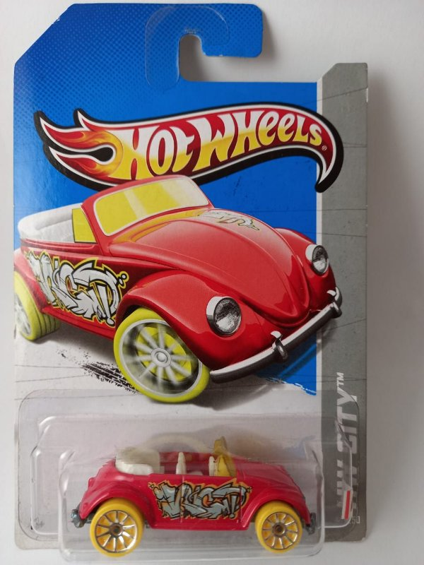 Miniatura Hot Wheels - Volkswagen Fusca - HW City