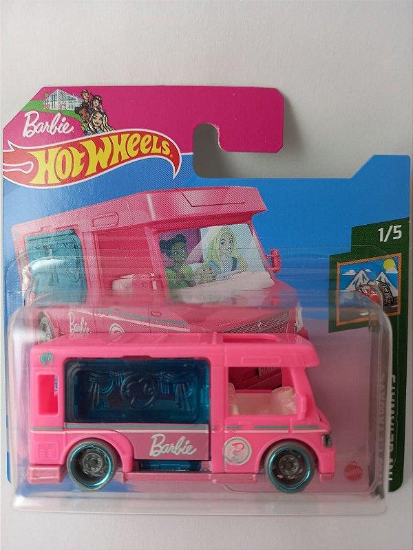Miniatura Hot Wheels - Barbie Dream Camper - HW Getaways